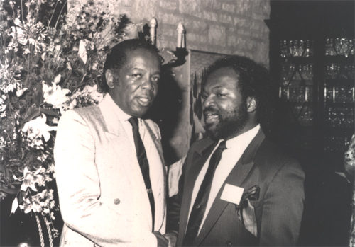 Lou Rawls and Brooksie Harrington